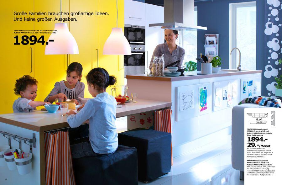 Küchen 2010 von Ikea