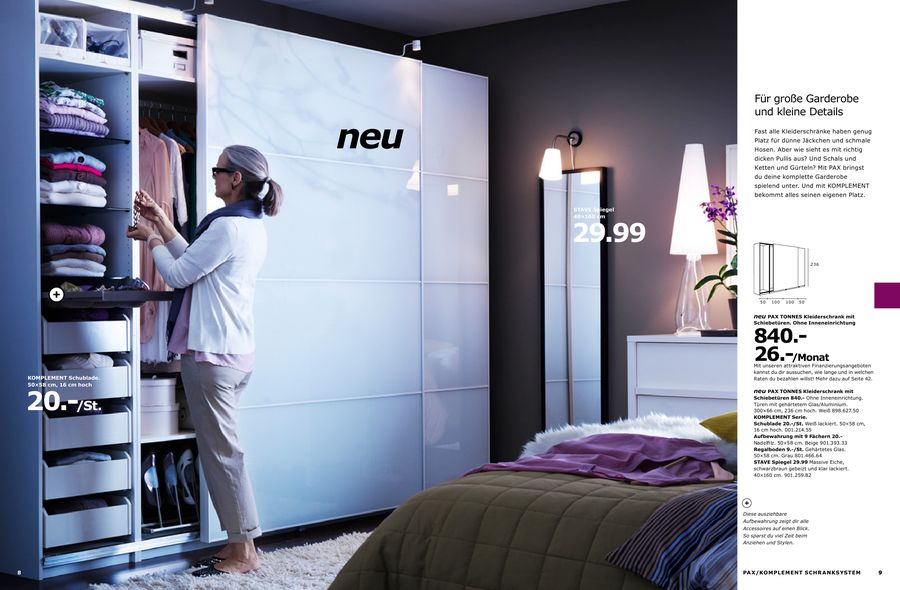 ikea pax schiebet ren und scharniert ren kombinieren. Black Bedroom Furniture Sets. Home Design Ideas
