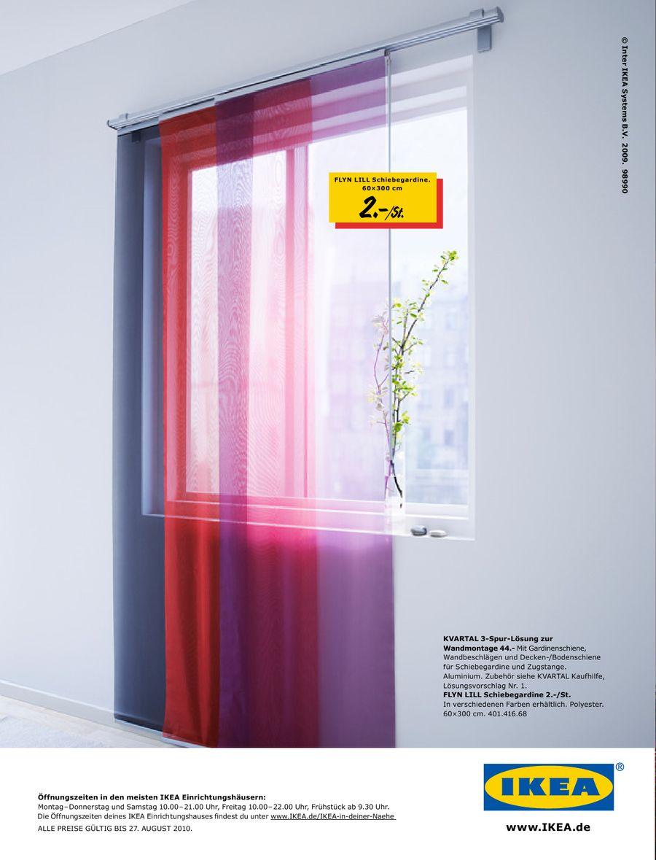 Gardinen Und Schiebegardinen 2010 Von Ikea