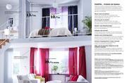 gardinen und schiebegardinen 2010 von ikea. Black Bedroom Furniture Sets. Home Design Ideas