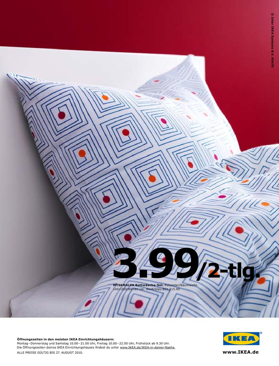 Mysa Bettdecken Und Gosa Kopfkissen 2010 Von Ikea