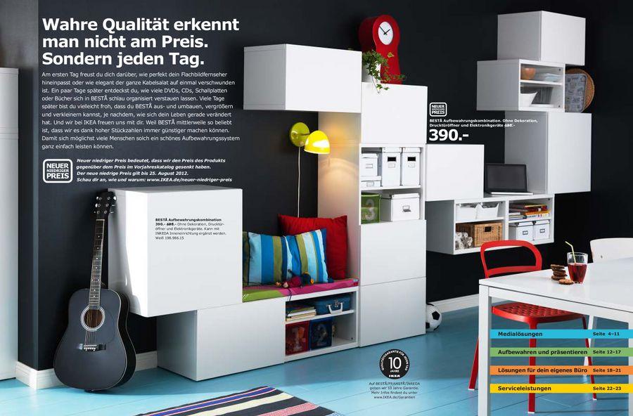 Aufbewahrungslösungen Besta 2012 Von Ikea