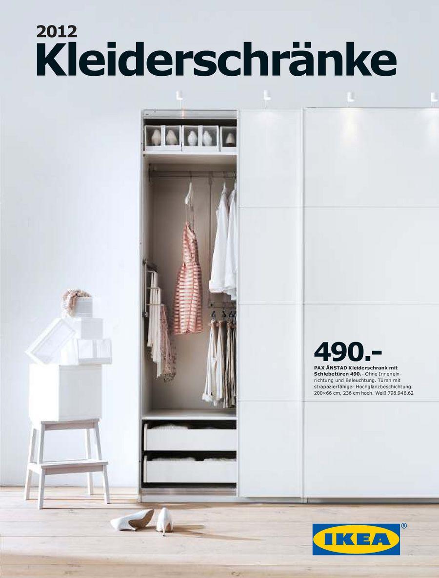 Kleiderschränke 2012 von Ikea