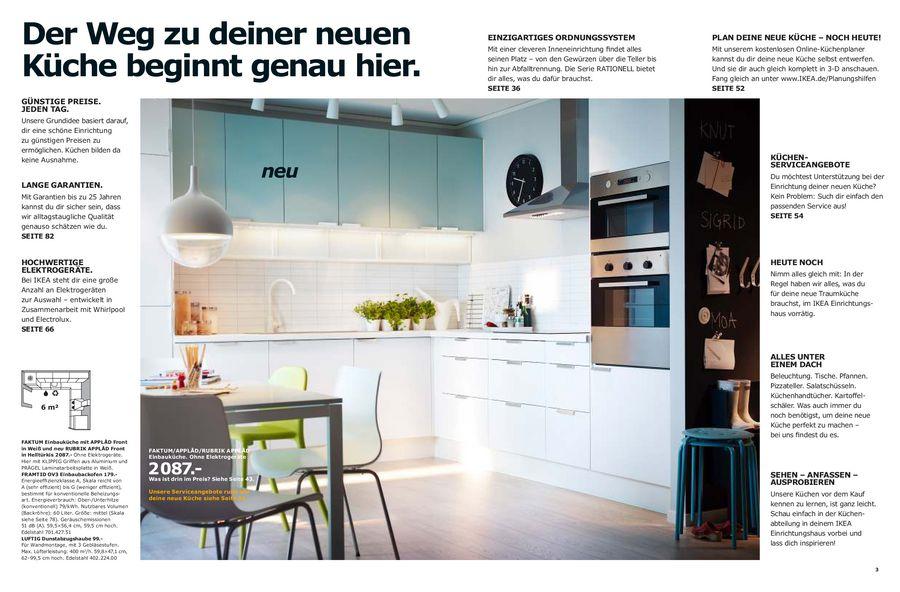 Ikea Küchen und Elektrogeräte 2013 von Ikea