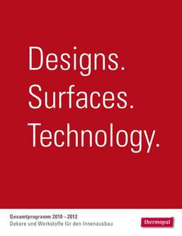 Dekore und Werkstoffe für den Innenausbau 2010-1012