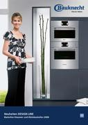 backofen bauknecht in design line backofen steamer 2008 von bauknecht ag. Black Bedroom Furniture Sets. Home Design Ideas