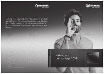 Instructions de montage 2014 (Französisch)