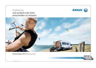 Knaus Kastenwagen 2011/2012