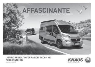 all in one 1 in Furgonati Listino prezzi 2016 (Italienisch) von ...