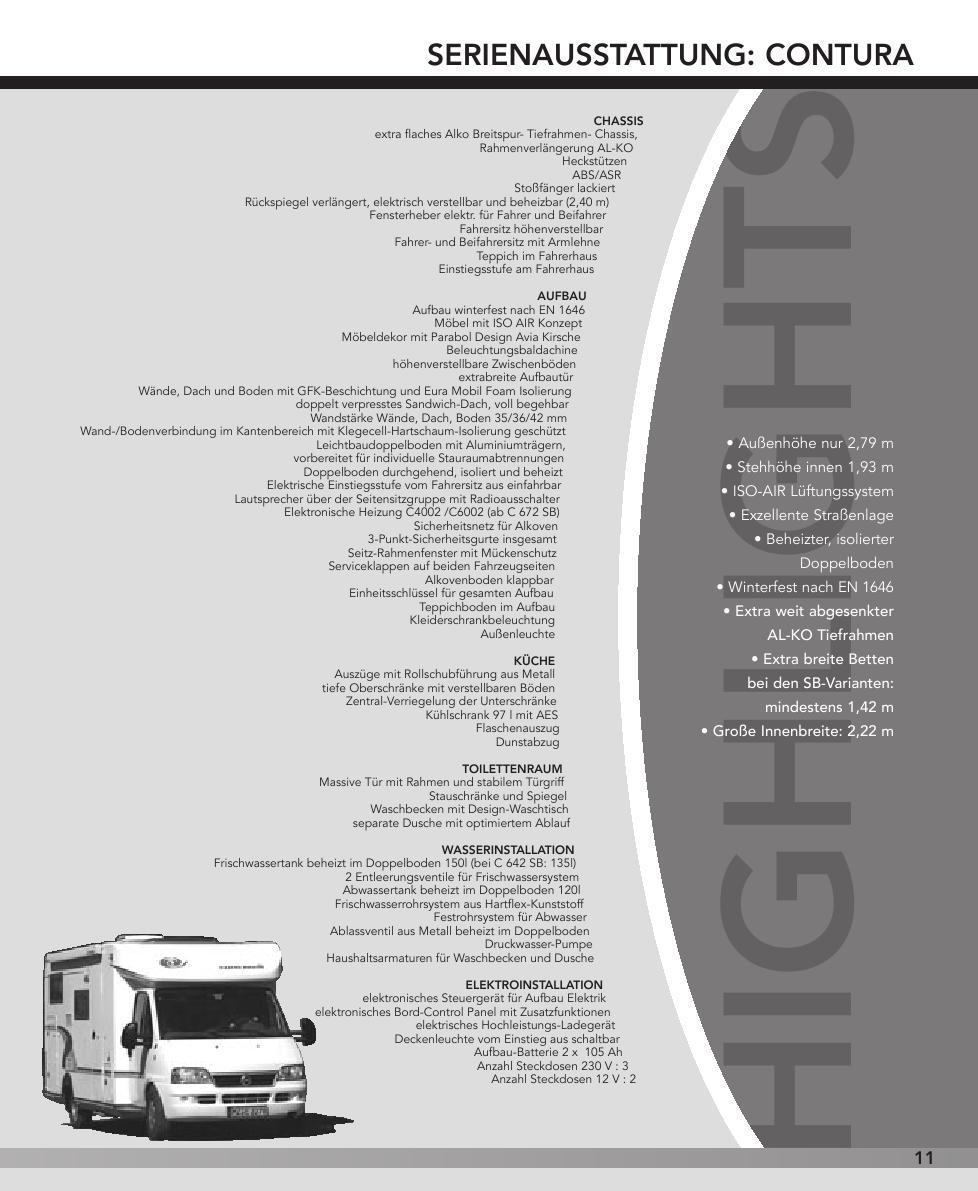 Seite 11 von Ausstattung und Technische Daten
