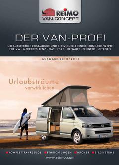 Ausbaukatalog: Der Van-Profi 2010/2011