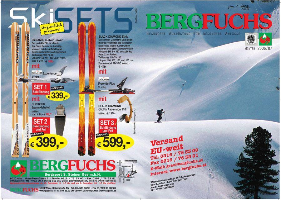 Klettersteigset Bergfuchs : Outdoorausrüstung winter von bergfuchs bergsport s
