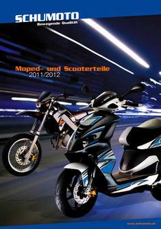Moped- und Scooterteile 2011-2012