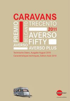 Technische Daten Caravan CH 2011