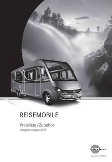 Reisemobile Preisliste 2014 AT