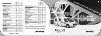 Preisliste/Technische Daten Trend Edition 2013