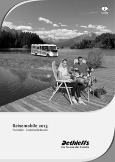 Preisliste/Technische Daten Reisemobile 2013