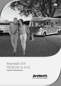 Preisliste/Technische Daten Premium Klasse 2014