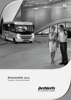 Preisliste/Technische Daten Reisemobile 2014