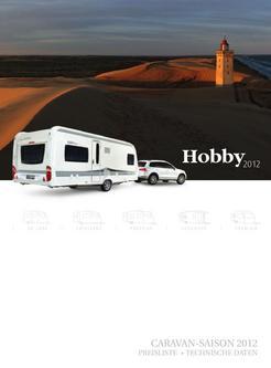Preisliste Caravan-Saison 2012