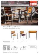 st hle teakholz in st hle 2012 von go in. Black Bedroom Furniture Sets. Home Design Ideas