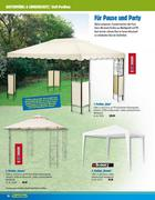 pavillon stoff in gartenm bel und sonnenschutz 2010 von praktiker. Black Bedroom Furniture Sets. Home Design Ideas