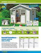 gartenhaus in gartenh user 2010 von praktiker. Black Bedroom Furniture Sets. Home Design Ideas