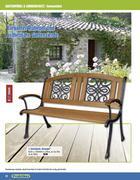 gartenbank holz in gartenm bel 2011 von praktiker. Black Bedroom Furniture Sets. Home Design Ideas