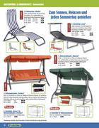 hollywoodschaukel in gartenm bel 2011 von praktiker. Black Bedroom Furniture Sets. Home Design Ideas