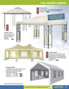 praktiker pavillon dach in gartenm bel 2011 von praktiker. Black Bedroom Furniture Sets. Home Design Ideas