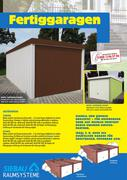 fertiggaragen und gartencontainer 2012 von praktiker. Black Bedroom Furniture Sets. Home Design Ideas