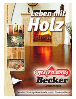 Holzland Becker Gesamtkatalog