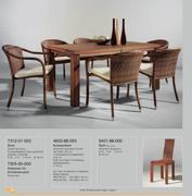 Moderne speisezimmer programme 06 von frawal m belzentrum for Armlehnenstuhl speisezimmer
