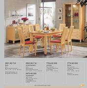 Ausziehtisch ahorn in moderne speisezimmer programme 06 for Armlehnenstuhl speisezimmer