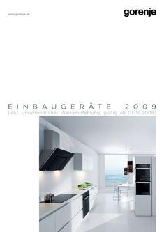 dunstabzugshaube 150 insel in einbauger te 2009 von gorenje vertriebs gmbh. Black Bedroom Furniture Sets. Home Design Ideas