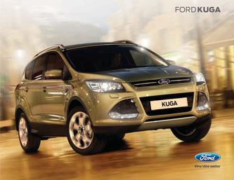 ford kuga abmessungen in ford kuga 2014 von ford deutschland. Black Bedroom Furniture Sets. Home Design Ideas