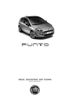 Punto Preisliste 2011