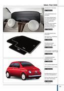 fiat 500 zubeh r in 500 zubeh r 2010 von fiat deutschland. Black Bedroom Furniture Sets. Home Design Ideas