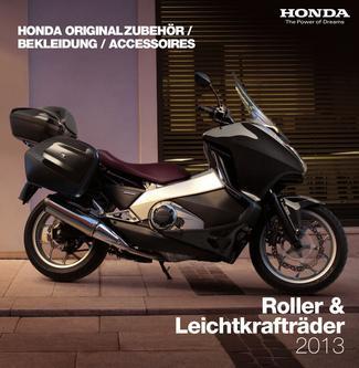 Honda Originalzubehör Leichtkrafträder & Roller 2013