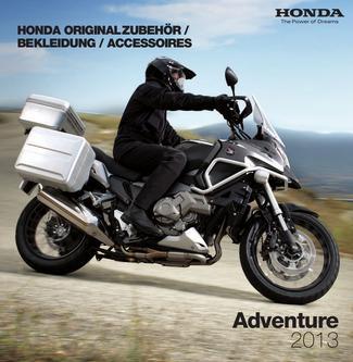 Honda Originalzubehör Adventure 2013