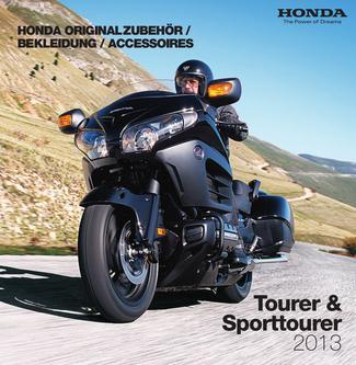 Honda Originalzubehör Tourer & Sporttourer 2013
