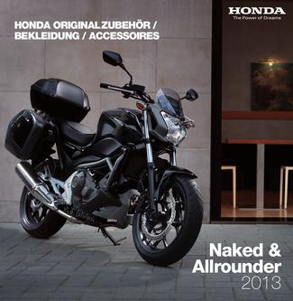 Honda Originalzubehör Naked & Allrounder 2013