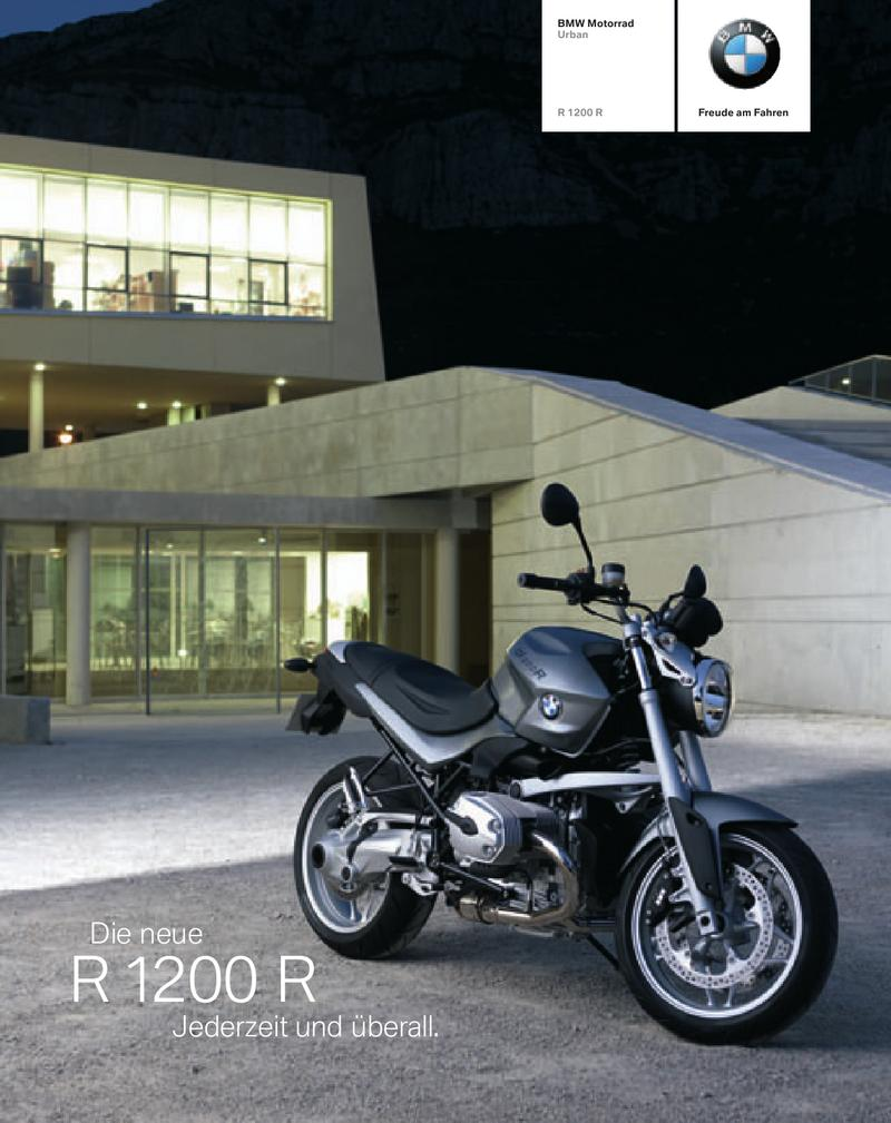 Bmw R 1200 R Katalog 2006 Von Bmw Motorrad Deutschland
