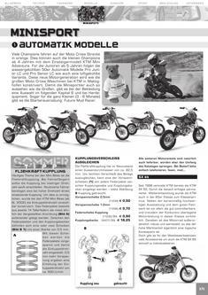 KTM Minisport Katalog 2006