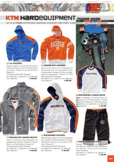 KTM Team Equipment Katalog 2006