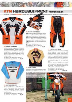 KTM Offroad Equipment Katalog 2006