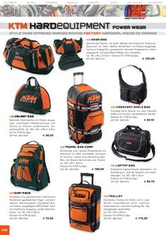 KTM Factory Equipment Katalog 2006