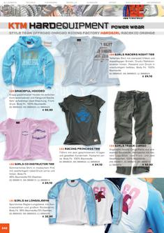 KTM HardGirl Equipment Katalog 2006