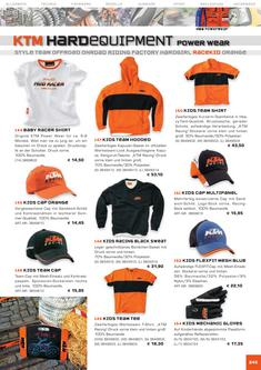 KTM Racekids Equipment Katalog 2006
