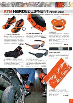 KTM Orange Equipment Katalog 2006